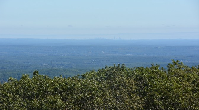 Scenic View from Summit of Mt. Wachusett