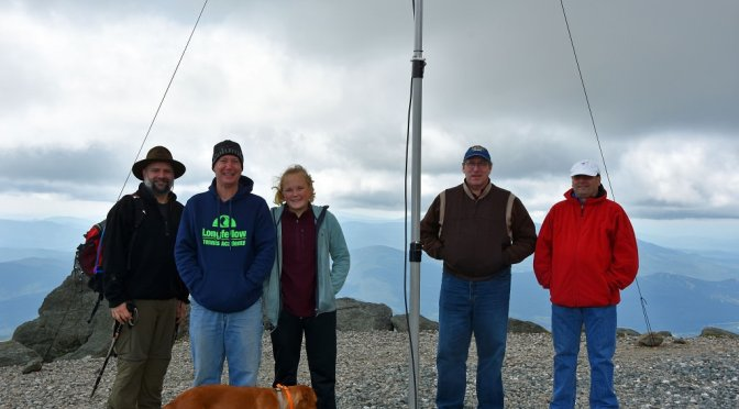 SOTA/POTA Activation on Mt. Washington