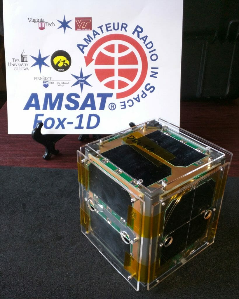 Fox-1D Satellite - a new Amateur Radio FM EasySat