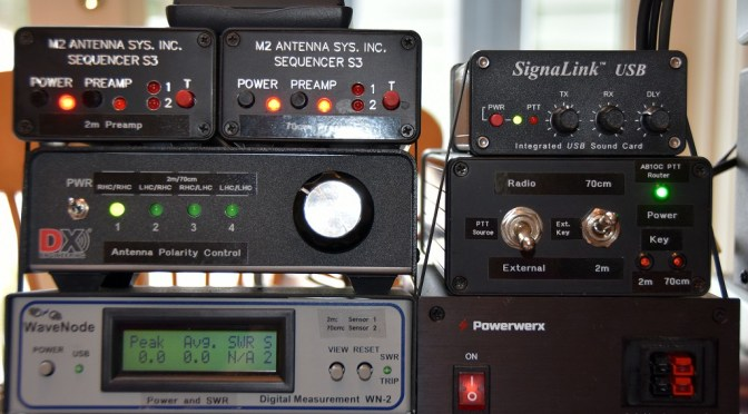 Portable Satellite Station Controls