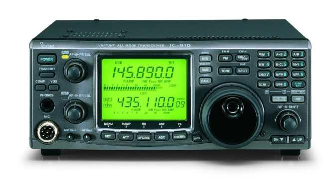 Icom IC-910H Transceiver - ARISS Crew Contact