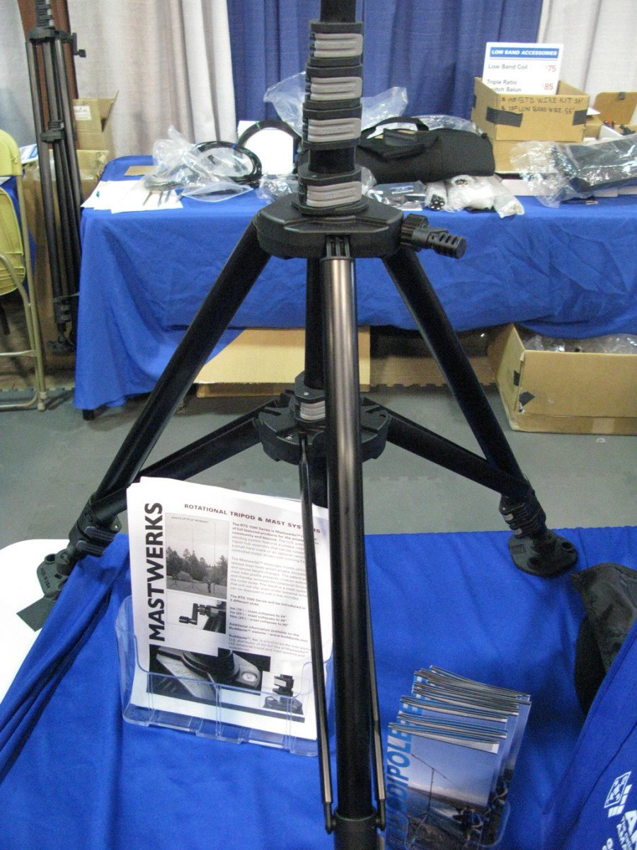 Rotating Mast soon to be available from Buddipole