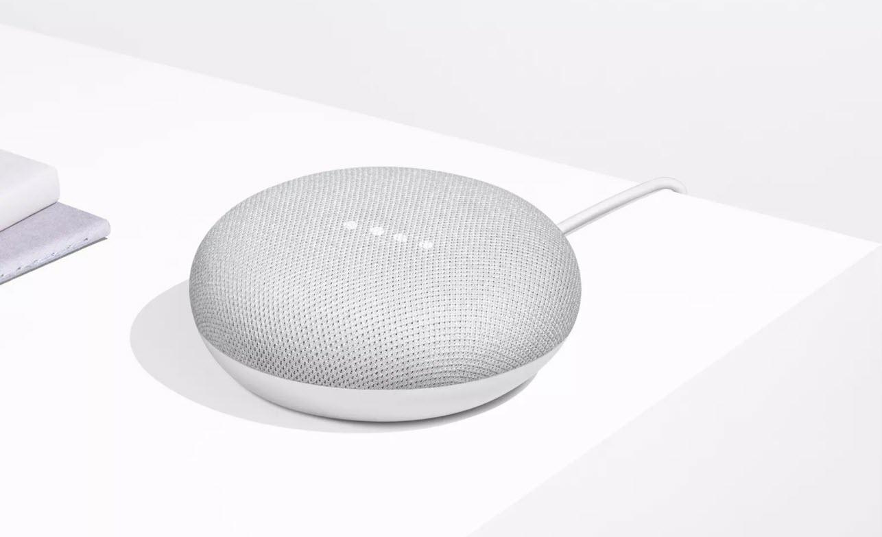 تعر ف على جهاز Google Home Mini الشقيق الأصغر لـ Google Home نيوتك New Tech