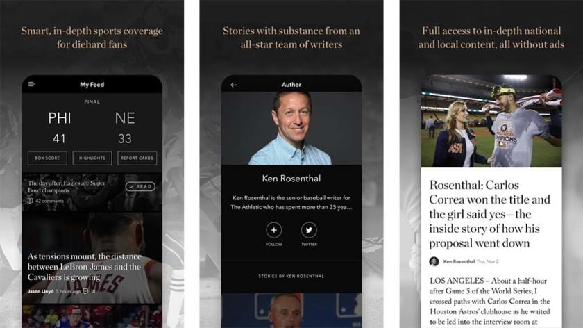 The Athletic - أفضل خمس تطبيقات للأخبار والأحداث الرياضية للأندرويد والأيفون
