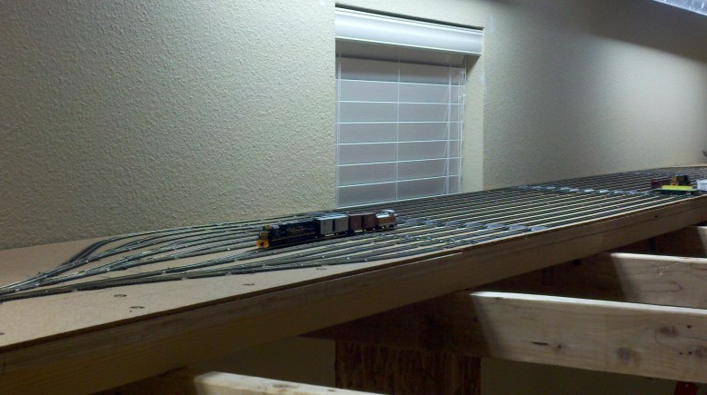 First Train in Staging