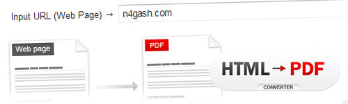 HTML to PDF, conversor online de páginas web a PDF