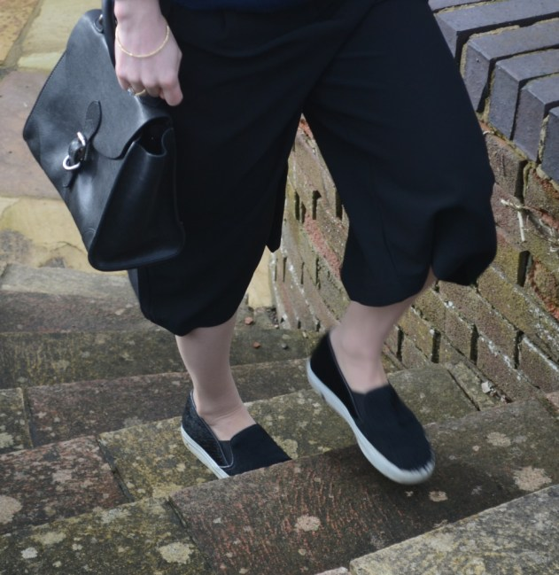 culottes with trainers