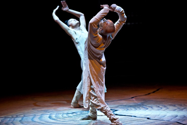 Akram Khan and Christine Joy Ritter in Until the Lions at the Roundhouse 9-24 January 2016 Credit Jean Louis Fernandez 4.jpg