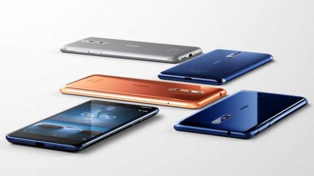 Nokia 8 Android 7.1.1 Smartphone Specs