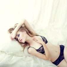 Sexy Girl träumt