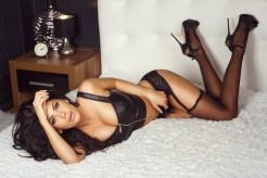 Sexy Girl im Hotelzimmer