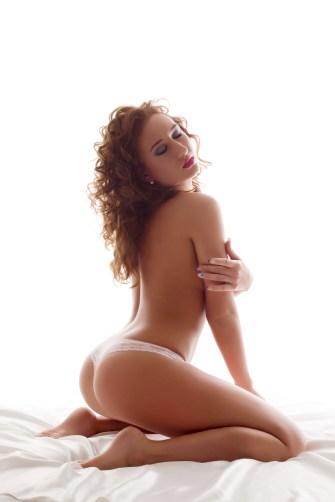 Sexy Girl entspannt