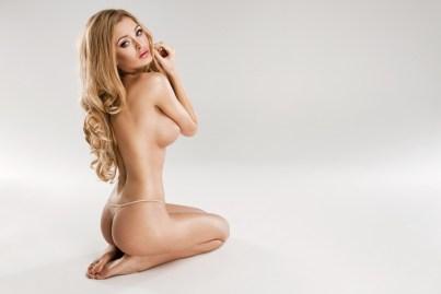 Sexy Girl stark bekleidet