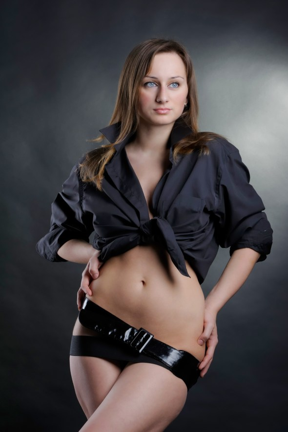 Sexy kurviges Girl