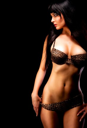 Girl mit sexy Kurven