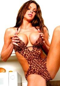 Sexy Girl im Tigerlook