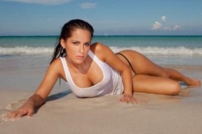 Sexy Girl im Strand
