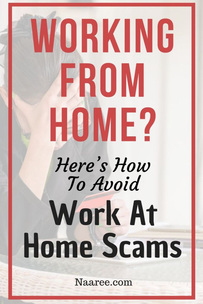 Working From Home? Here's How To Avoid Work At Home Scams