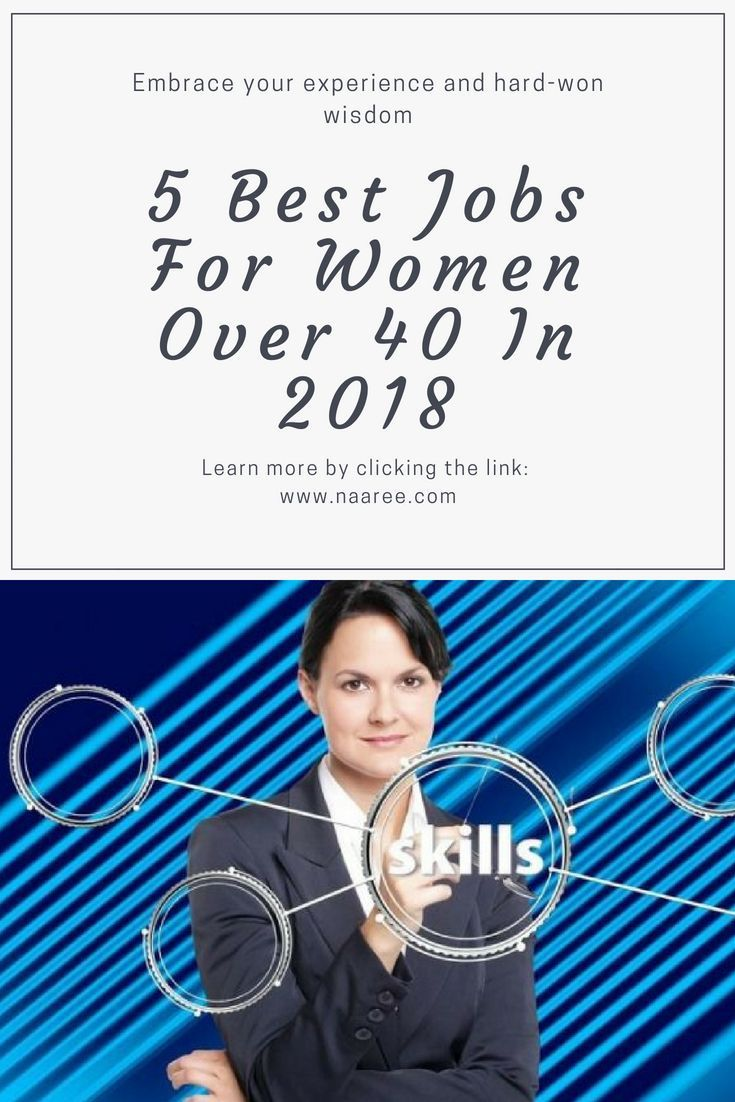 Age discrimination against women begins when they reach 35.Is it possible to start over? It certainly is, as long as you're willing to do the work, which usually means going back to school or getting vocational training. That said, there are many careers that will embrace your experience and hard-won wisdom. Here are 5 of them. #careers #women #careeradvice