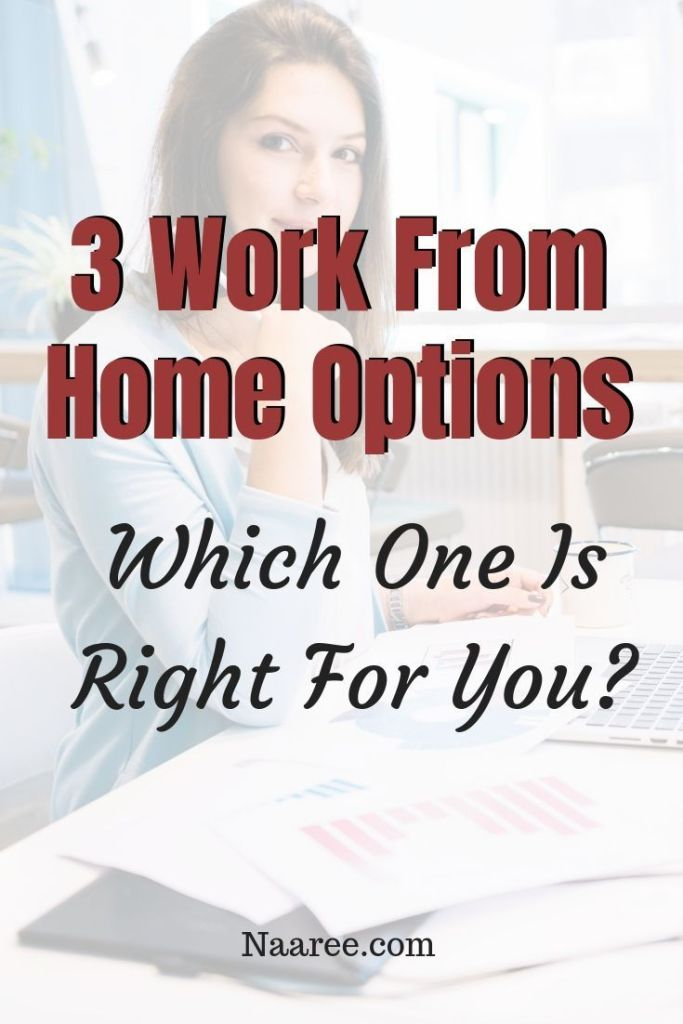 3 Work From Home Options: Which One Is Right For You?