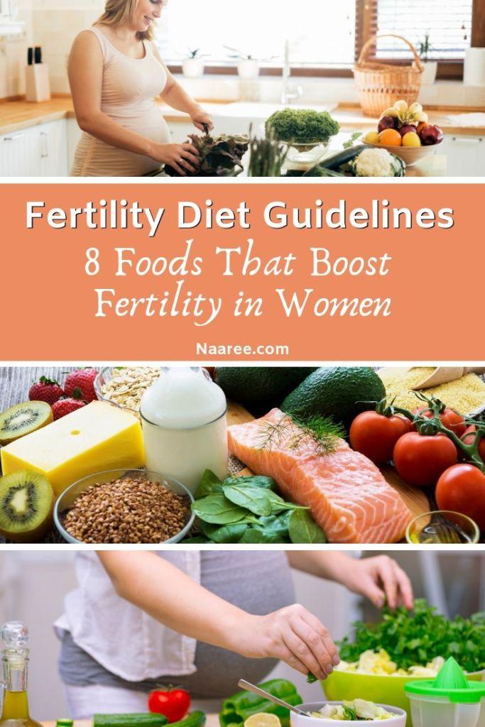 Fertility Diet Guidelines: 8 Foods That Boost Fertility in Women