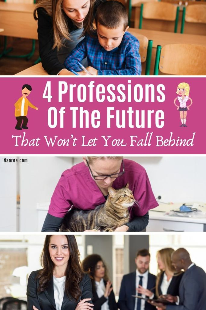 4 Professions Of The Future That Won't Let You Fall Behind