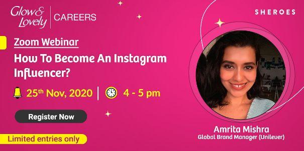 Instagram Influencer Webinar