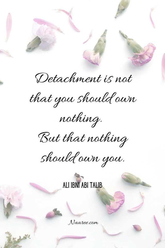 Quotes About Detachment
