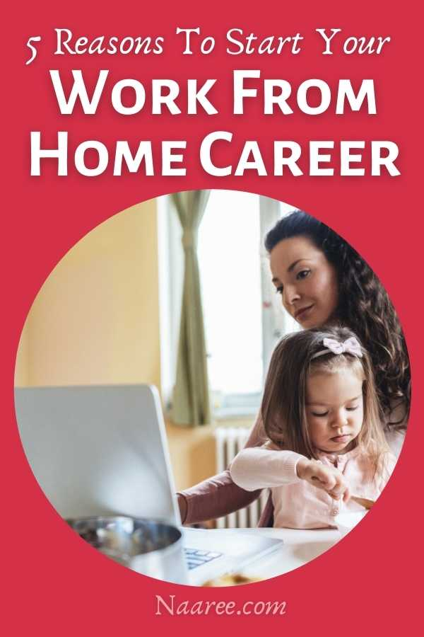 work from home careers get started