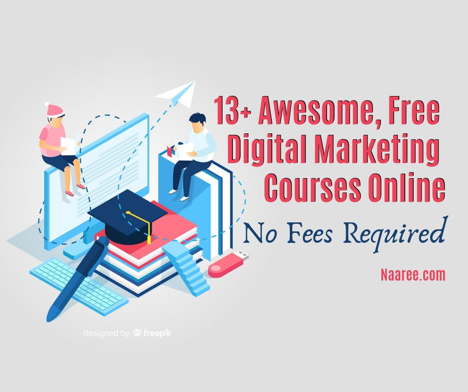 April 15, 2021 | staff writers marketing is the aspect of business responsible for po. 10+ Awesome, Free Digital Marketing Courses Online, No ...