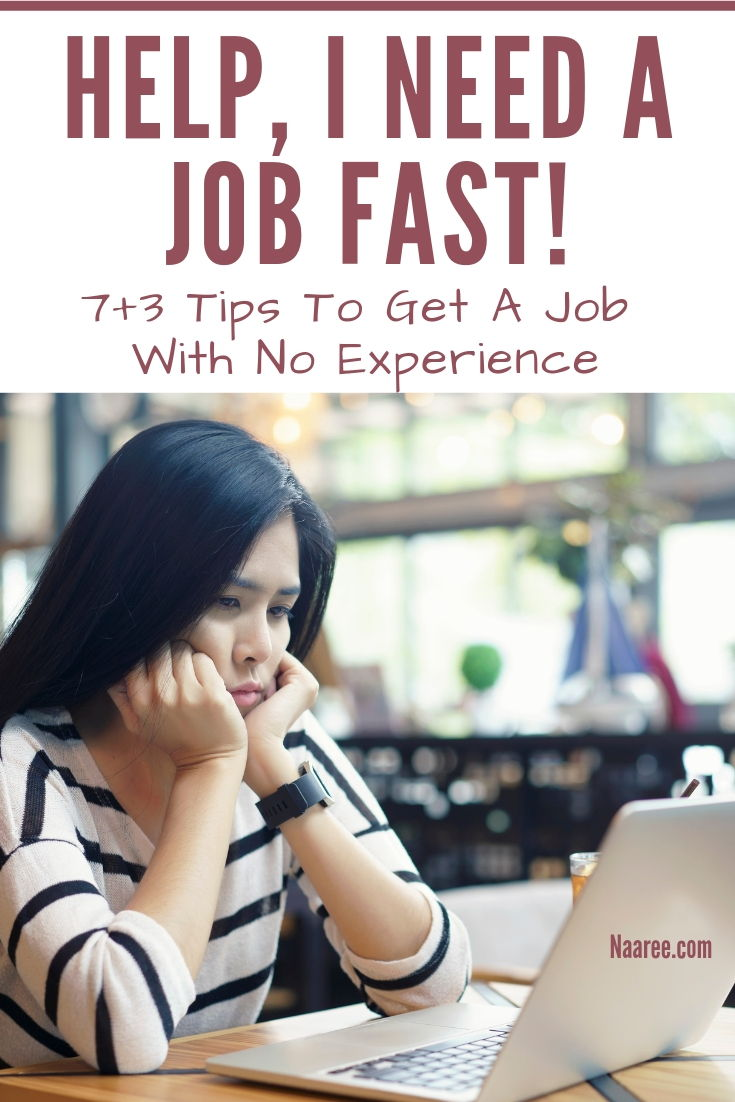 Tips To Get A Job With No Experience