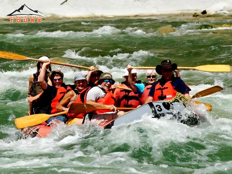 Rafting or Kayaking