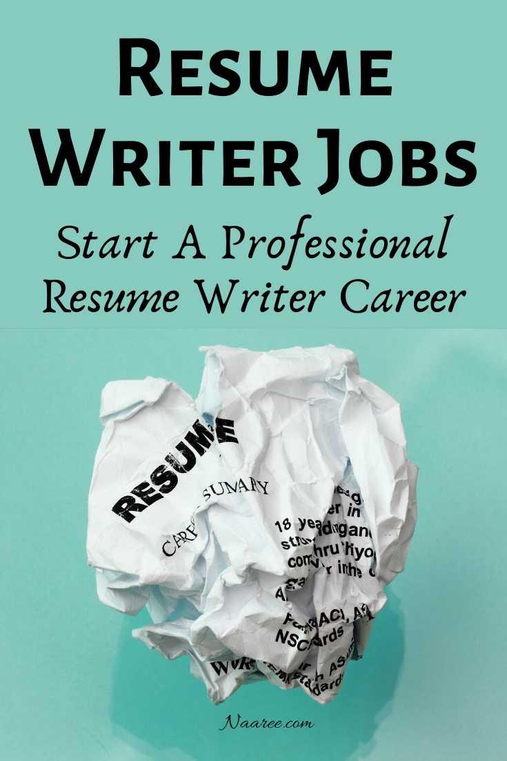 Resume Writer Career
