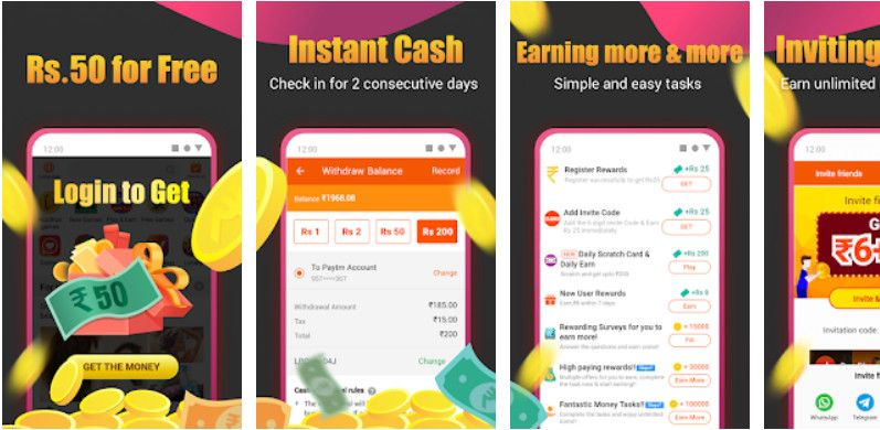 free money earning apps for Android in India