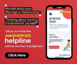 SHEROES Helpline