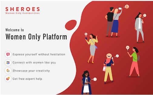 Sheroes Only-Women App