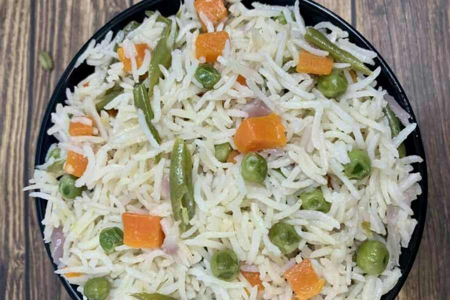 South Indian rice recipe