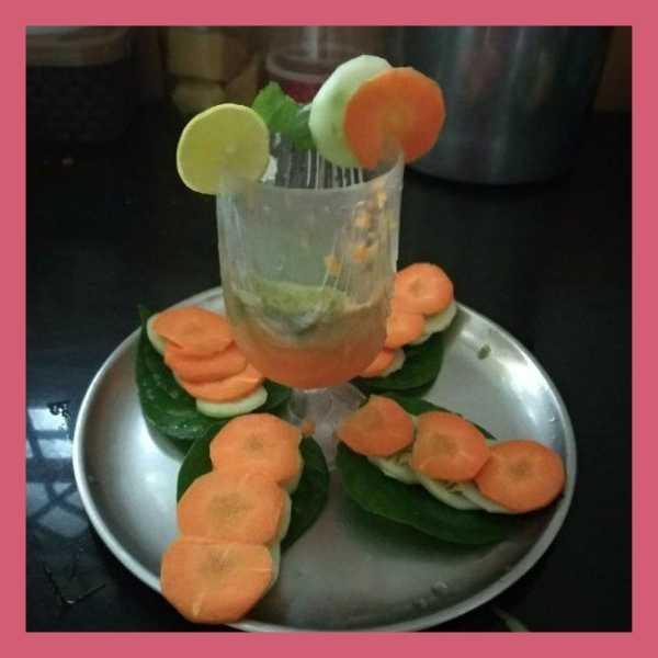 tri colour cocktail recipes