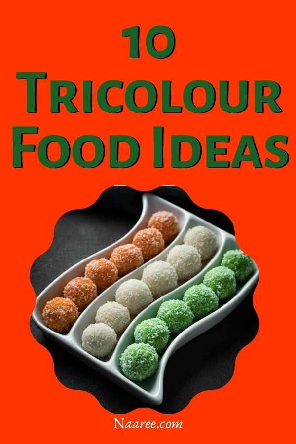 tricolour food ideas