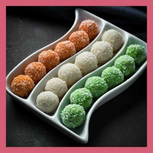 tricolour sweets