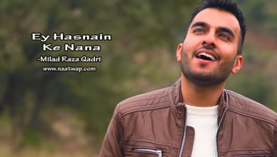 Ey Hasnain Ke Nana By Milad Raza Qadri