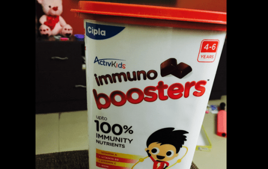 Being A #YesMom With ActivKids Immuno Boosters