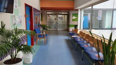 صورة إصابة ممرضة في قسم جراحة القلب والرئة بالفايروس في مستشفى جامعة آلبورج