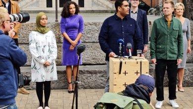 صورة رئيسه من أصول إسلامية.. حزب جديد في البرلمان الدنماركي