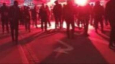 صورة تجدد مظاهرات مجموعة Men in Bkack المناهضة لقيود كورونا أمس