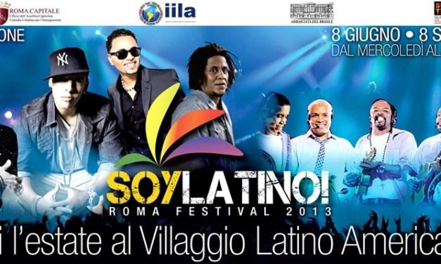 Soylatino, la musica latina riparte da Roma
