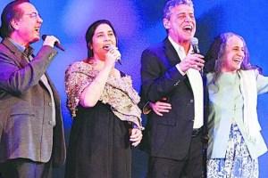 Mônica, Edu, Chico e Bethânia