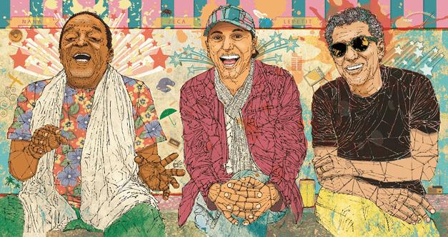 Naná, Zeca, Paulo e un Café no Bule