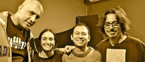 Alfredo Paixão, Noemi Nori, Israel Varela, Alessandro Gwis