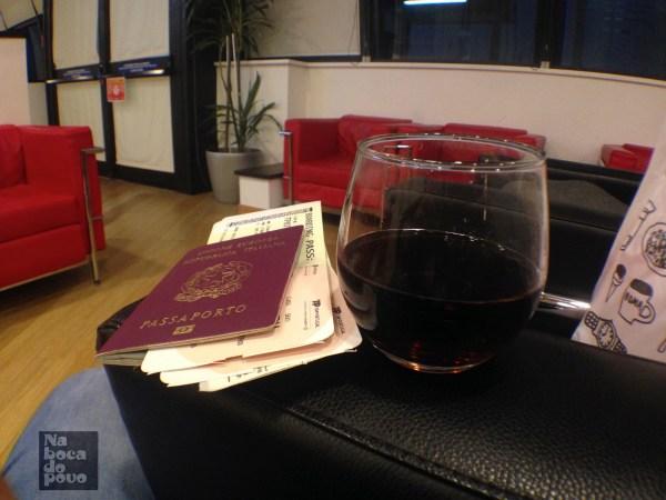 Lounge TAP Roma passaporto